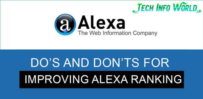 improving alexa ranking