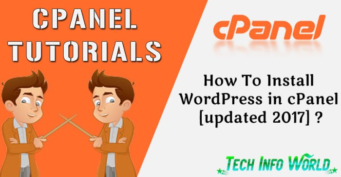 cPanel Tutorials