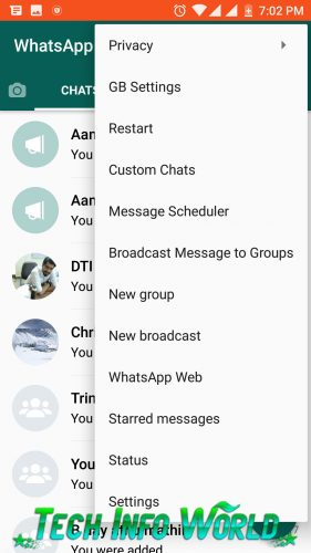 Download Latest GBWhatsApp 2018