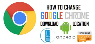 How to change default download path in google chrome browser android?