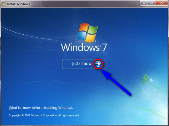 Reinstall the Windows
