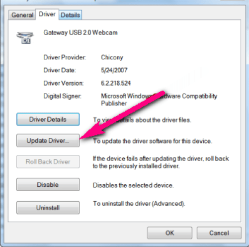 Update the Device Driver