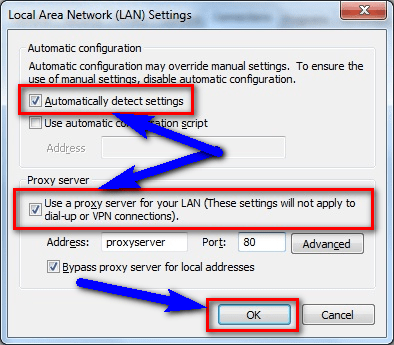Check & Fix LAN Setting