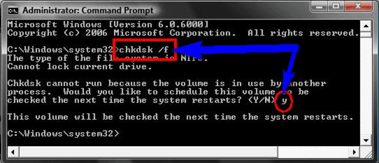 Check for Hard Disk Corruption