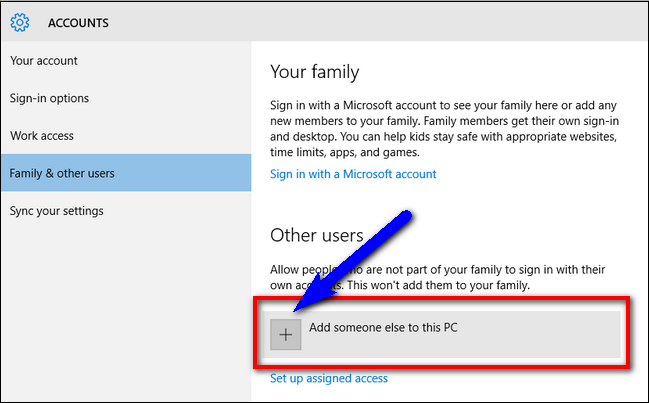 Create a New Local User Account Error 1606 Could not Access Network Location