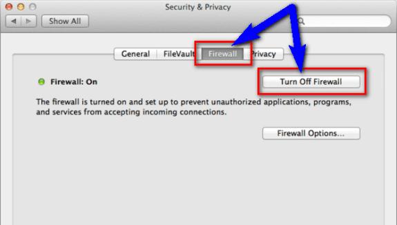 Firewall Configuration