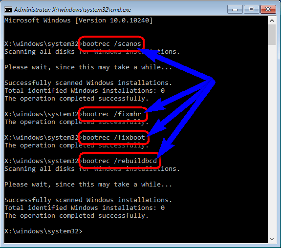 Fix by run Command in CMD