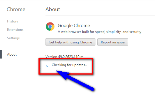 Update your Web Browser