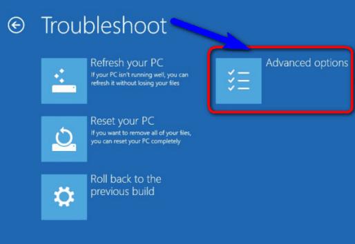 Use Windows Troubleshoot