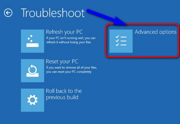 Use Windows Troubleshoot