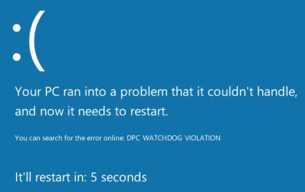 DPC_WATCHDOG_VIOLATION