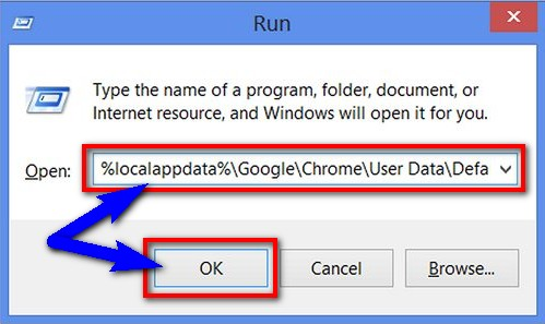 Delete Google Chrome Profile by this command