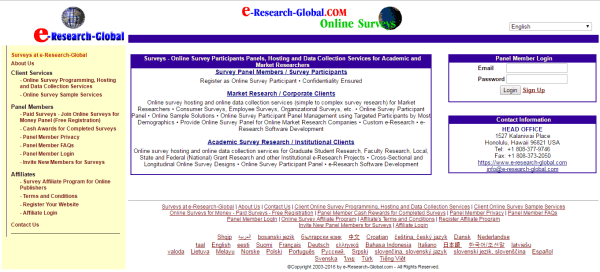 E Research Global