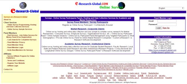E Research Global