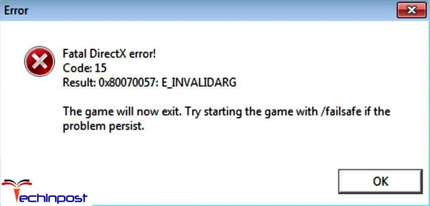 Direct X Error Start With Failsafe? :: Just Cause 2