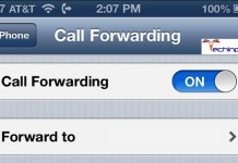 Call Forwarding iPhone 5