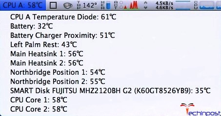 Check your Mac's Temperature