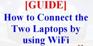 How to Connect Two Laptops using WiFi