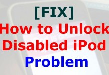How to Unlock Disabled iPod