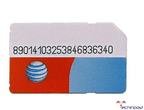 Now Put the AT&T SIM on your Device