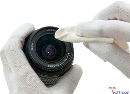 Clean Camera or Lens Contacts