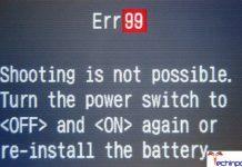 Error 99