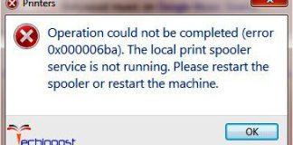 Error 0x000006ba