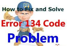 Error 134