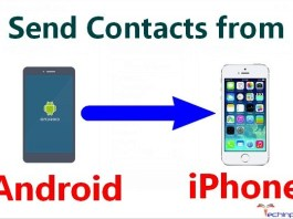 How to Send Contacts from Android to iPhone