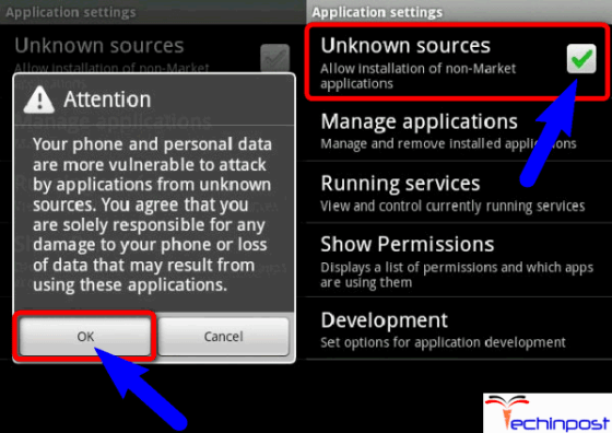 Download & Install an APK File from any Third-Party Website