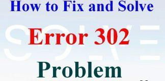 Error 302