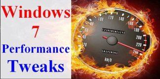 Windows 7 Performance Tweaks