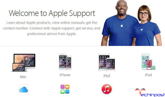 Contact Apple Support or Authorized Service Provider