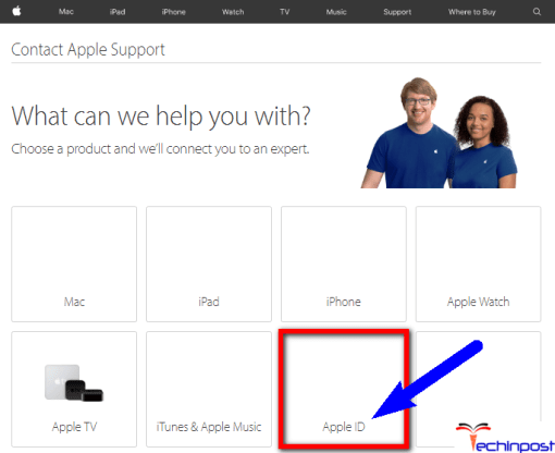 Contact the Apple Support Service