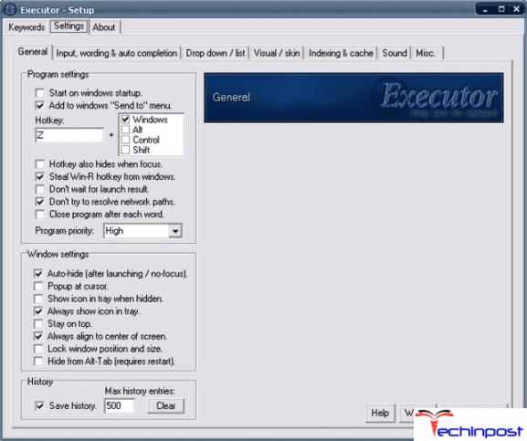 Executor (MIT License)