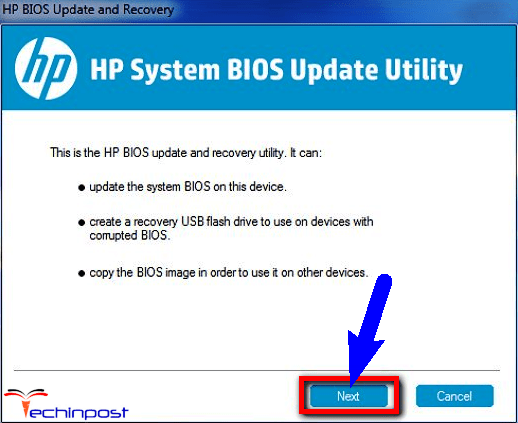 Update your BIOS from your Windows PC