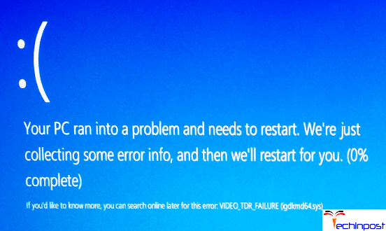 Igdkmd64. Sys on windows 10 blue screen error [solved] driver easy.