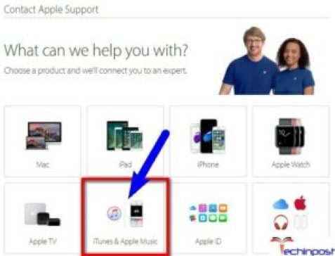 Contact Apple Support for Help