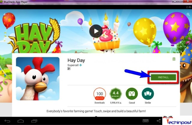 Download the Official Hayday Game on your Bluestacks App Player