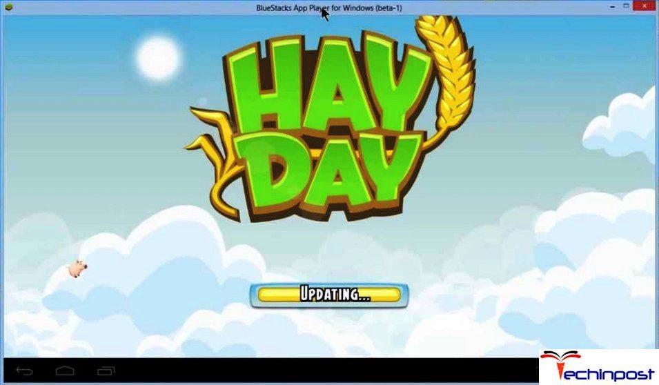 Open Hayday app in bluestacks
