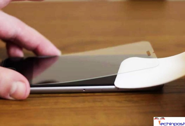 Remove the Screen Protector from your iPhone Device