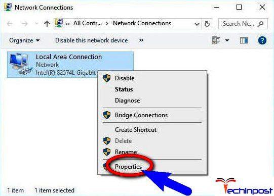 Remove Static IP