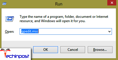 Press theWindows Logokey areR together to open the Run command prompt