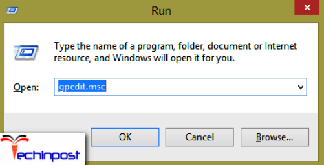 Press the Windows Logo key are R together to open the Run command prompt