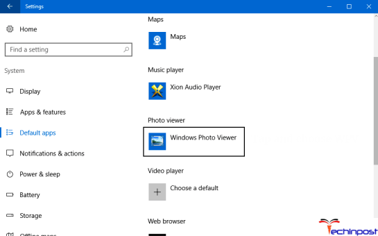 Set Windows Photo Viewer as the Default Image Viewer