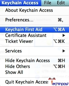 Under the Keychain Access' preferences choose the First Aid tab