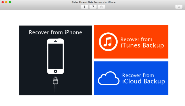 Stellar Phoenix Data Recovery for iPhone