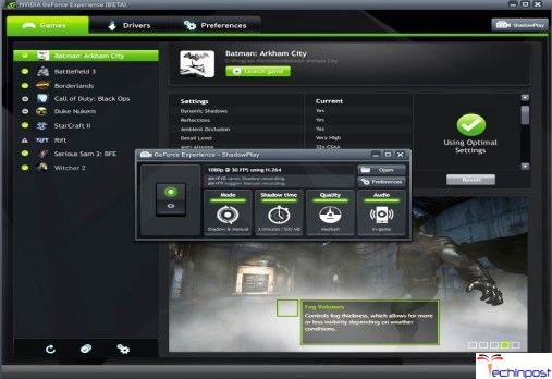 Nvidia ShadowPlay