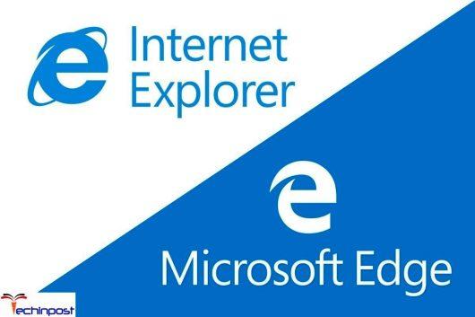 Microsoft Edge or Internet Explorer