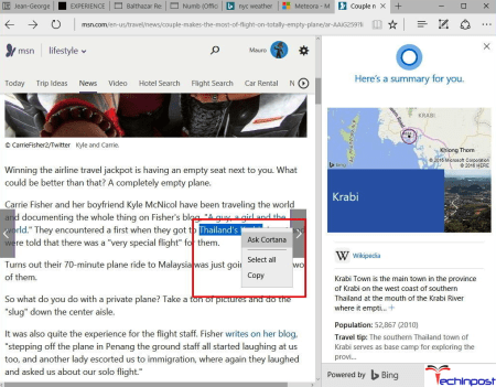 Cortana Integration